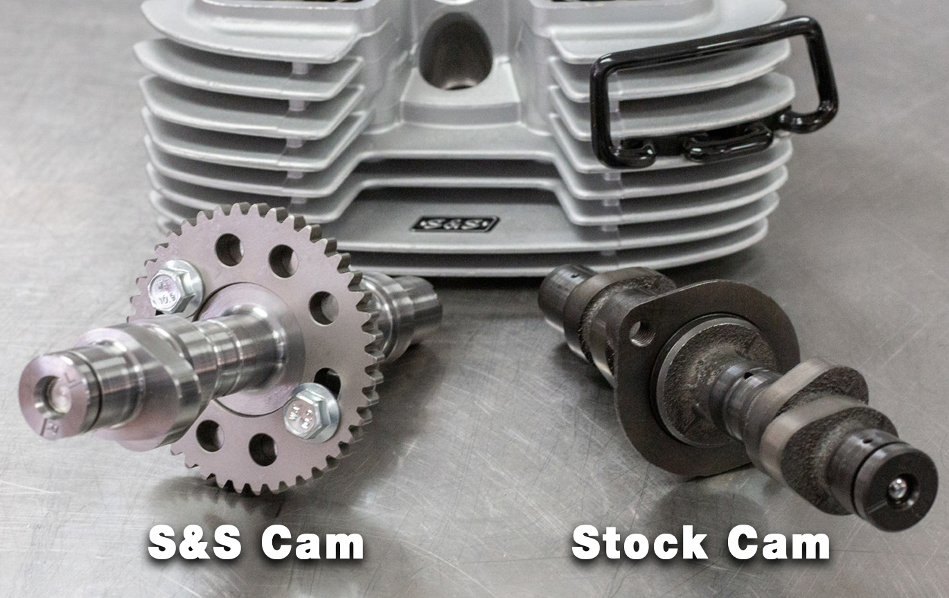 Camshaft kit for royal enfield 650 twins