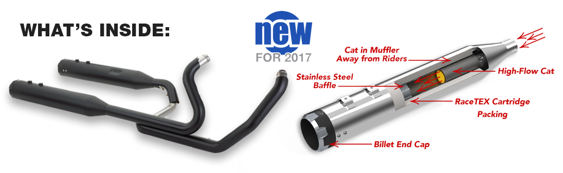 Choose From Show Quality Chrome Or Black Ceramic Finish And Tracer Thruster Exhaust Tips: High Flow Exhaust System At Woreks.co